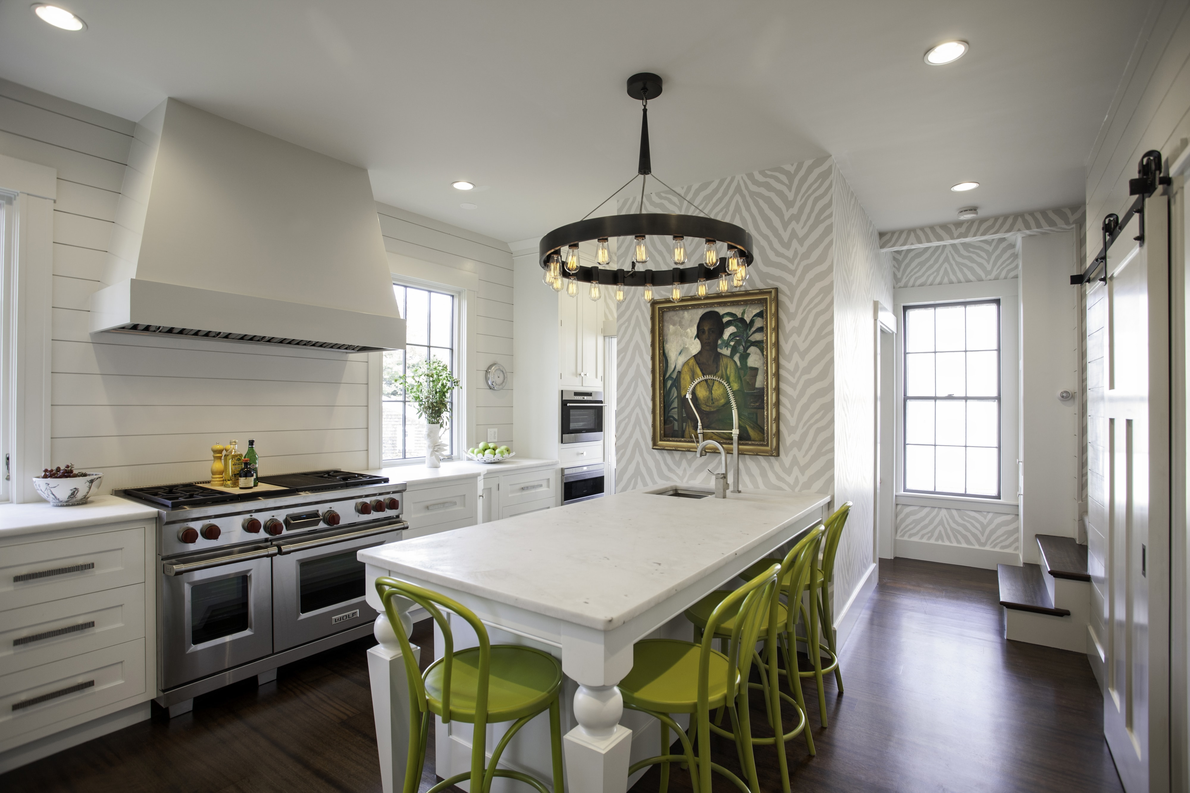 Contemporary Traditional Kitchen
