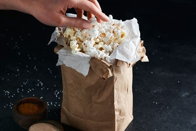 Do-It-Yourself Microwave Popcorn
