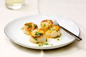 Scallops with Garlic-Parsley Butter