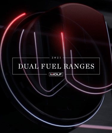 Sub-Zero, Wolf, and Cove 2021 Virtual Product Showcase featuring Wolf Dual Fuel Ranges.