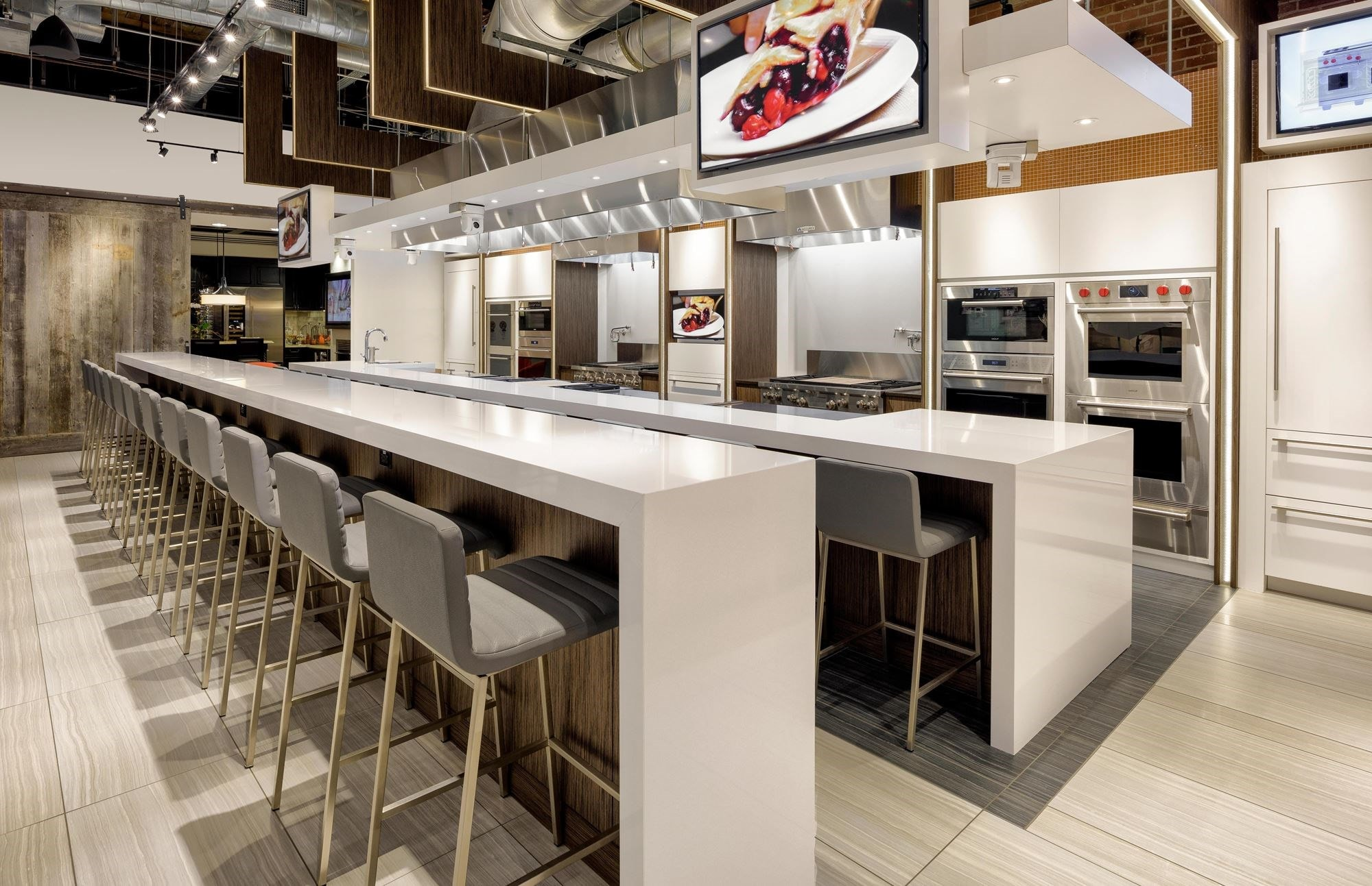 Explore ideas for your new kitchen at Sub-Zero, Wolf and Cove Showroom in Charlotte, North Carolina