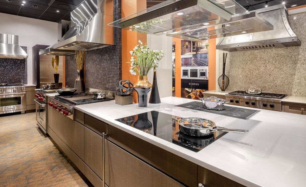 See the widest variety of Sub-Zero, Wolf and Cove products in live kitchen settings at our showroom in Charlotte, North Carolina