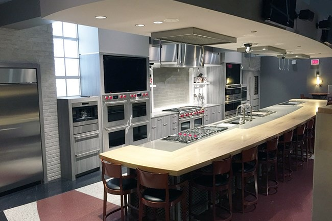 The Demo Kitchen Left View