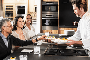 Chef-led demonstrations provide opportunity to ask questions of the experts who use our appliances every day.