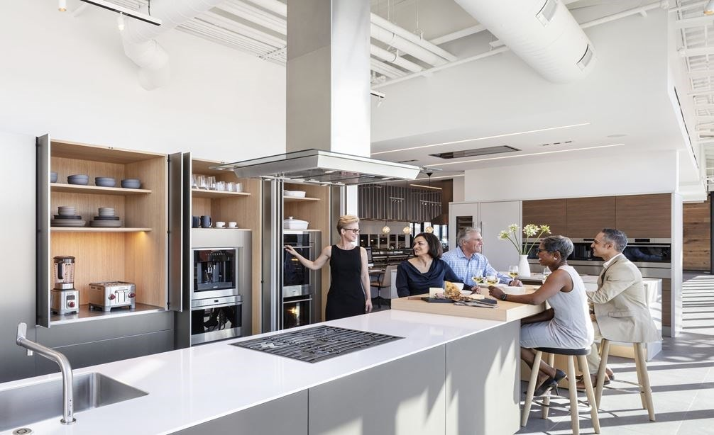 Experience the sights, sounds, and smells of your next kitchen in the new Sub-Zero, Wolf and Cove Showroom in Denver, Colorado