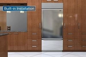 A video guide to Sub-Zero classic series and Sub-Zero designer series installation including custom panel installation instructions.