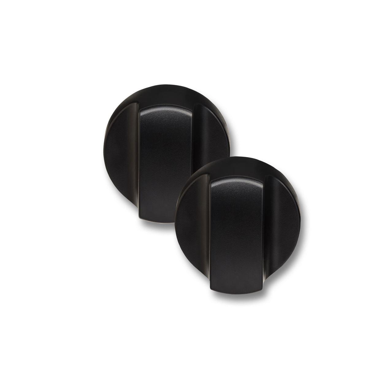 Countertop Oven Knobs Black