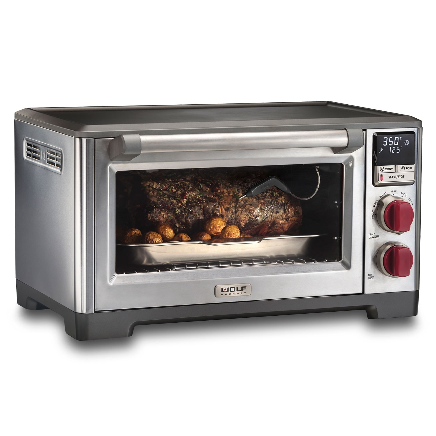 wolf countertop oven review subzerowolf quality and look of wolf oven in countertop form intuitive design highperformance electronics deliver light flaky pastries caramelized root countertop oven gourmet appliances