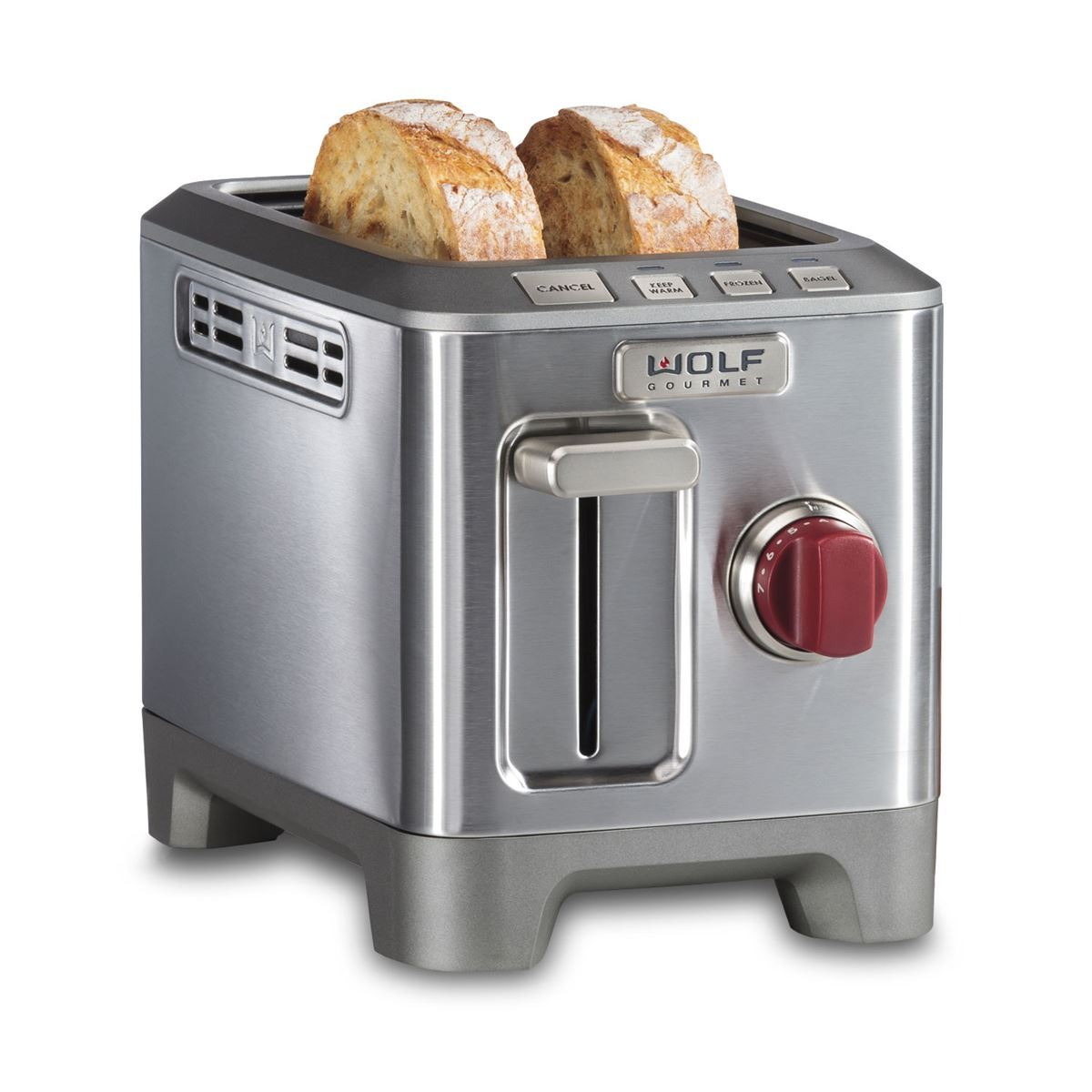 Two slice toaster wolf gourmet countertop appliances for Wolf toaster oven