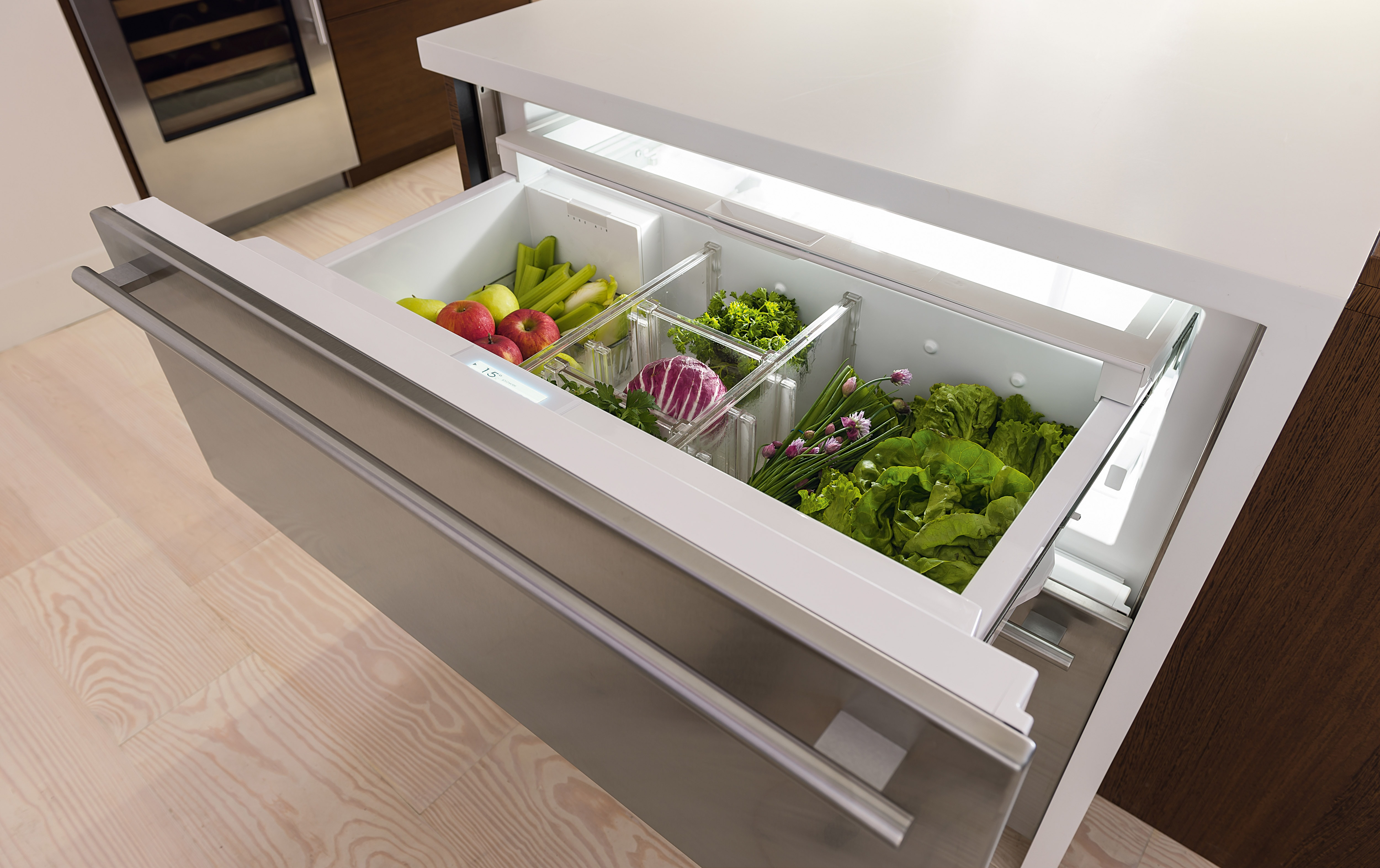 Sub Zero 30 Quot Designer Refrigerator Freezer Drawers With