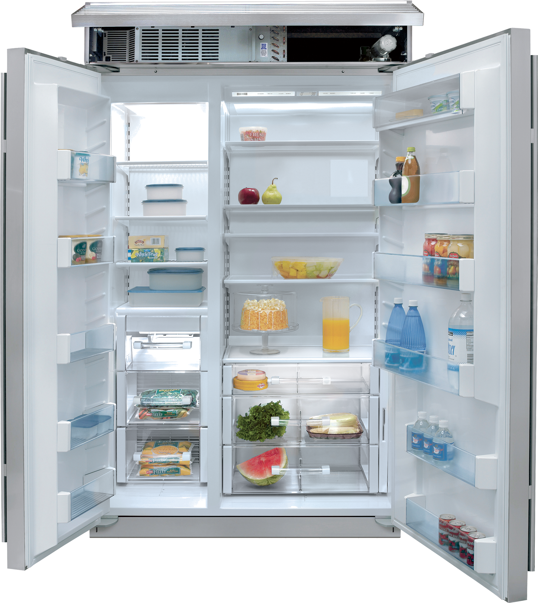 Side Refrigerator Freezer Bi 48s
