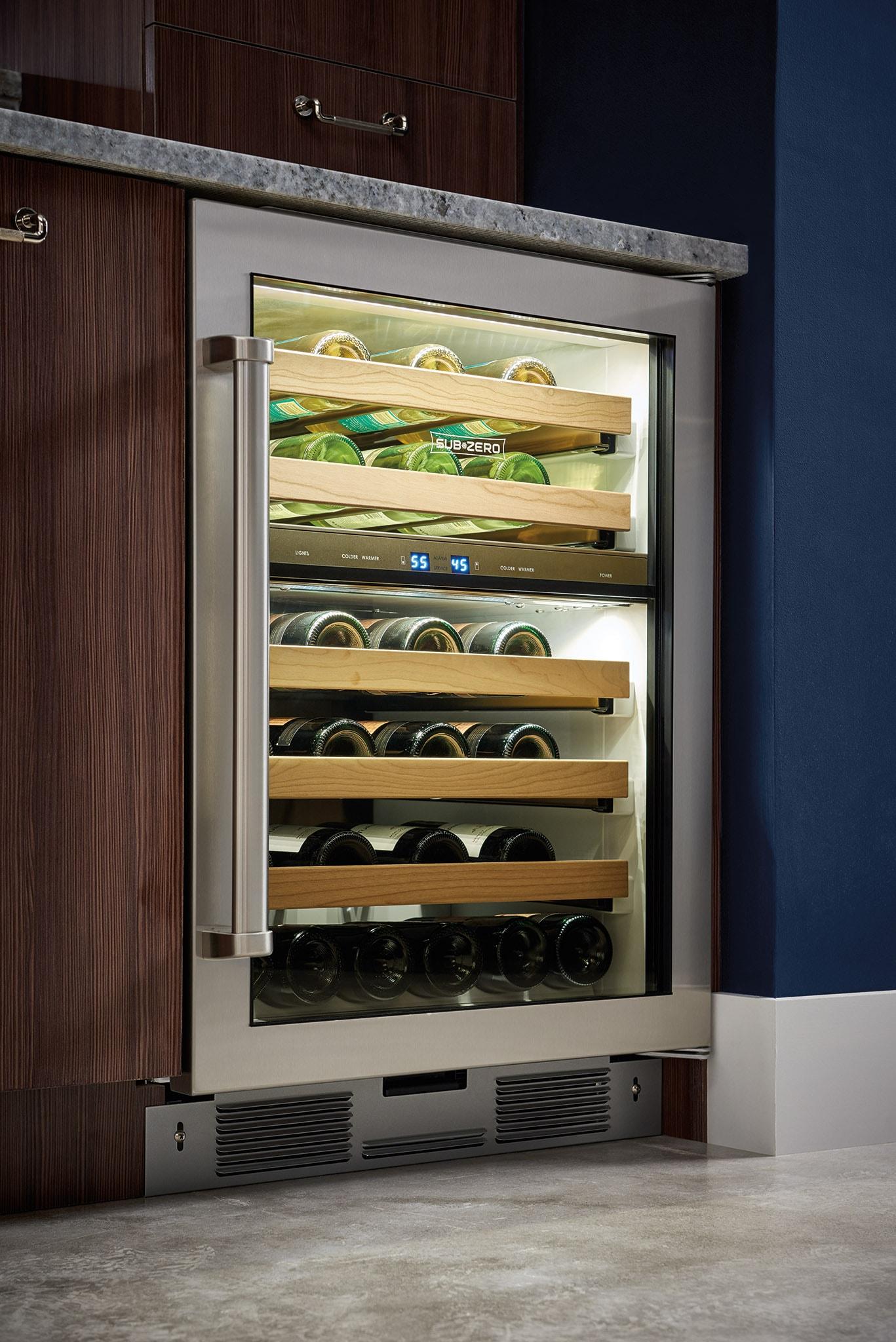 Sub Zero 24 Quot Undercounter Wine Storage Uw 24 S