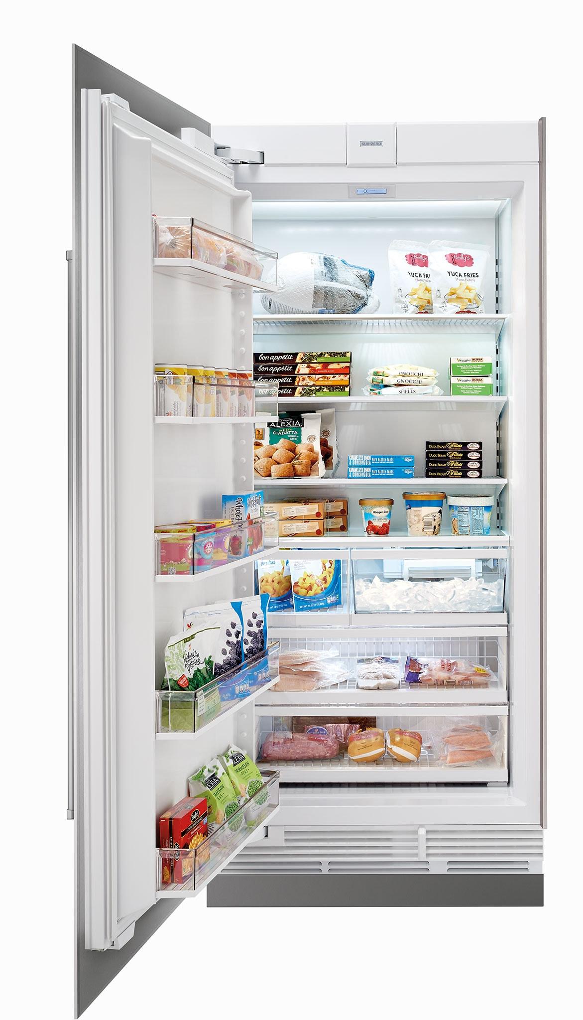 Sub Zero 36 Quot Designer Column Freezer With Ice Maker