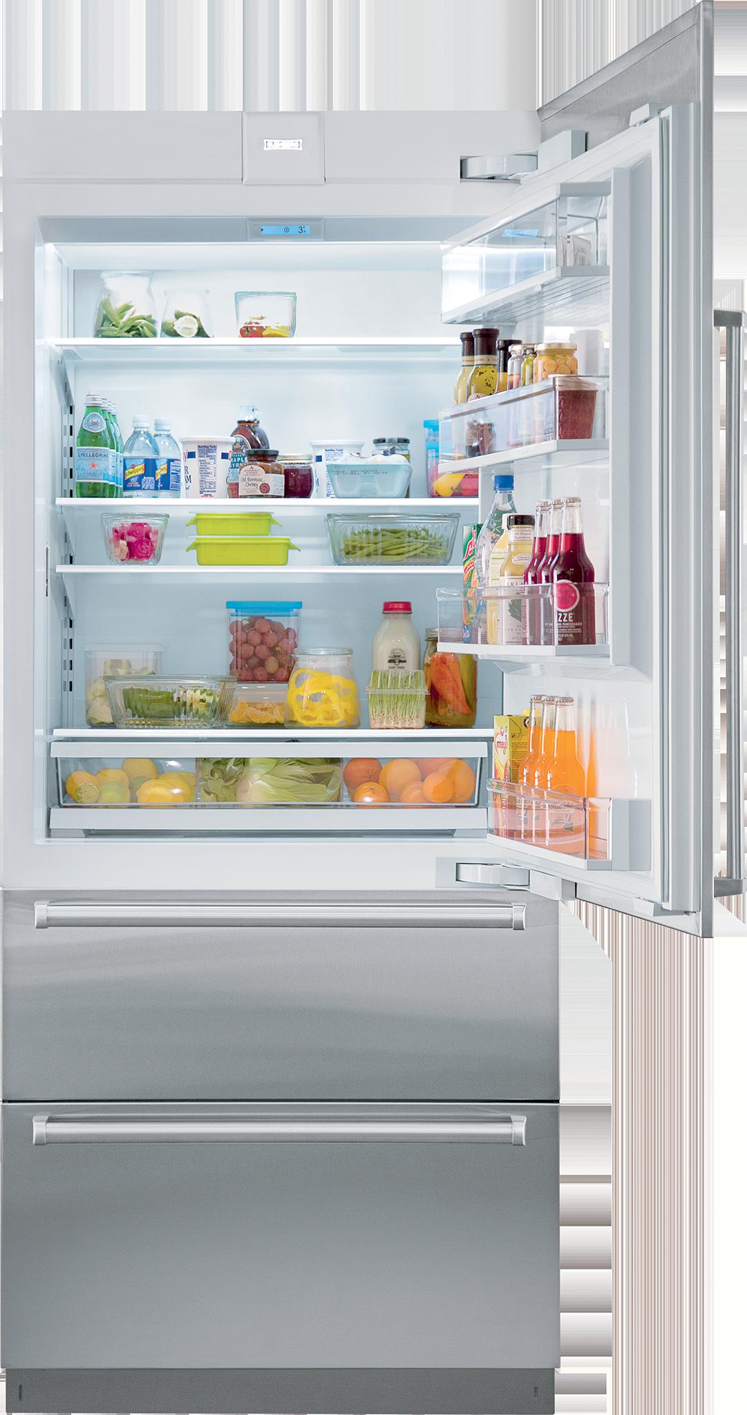 Sub Zero 36 Quot Designer Over And Under Refrigerator Internal