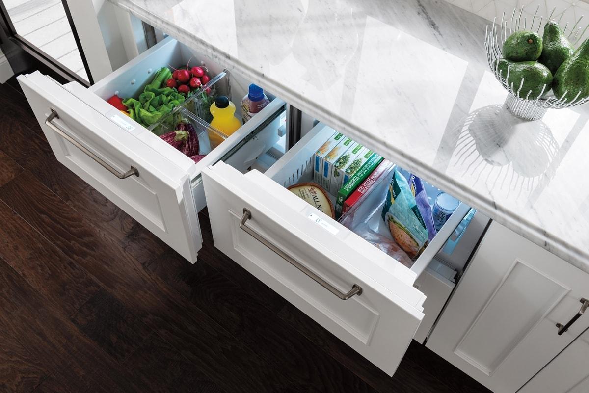 Sub Zero 24 Quot Designer Freezer Drawers With Ice Maker