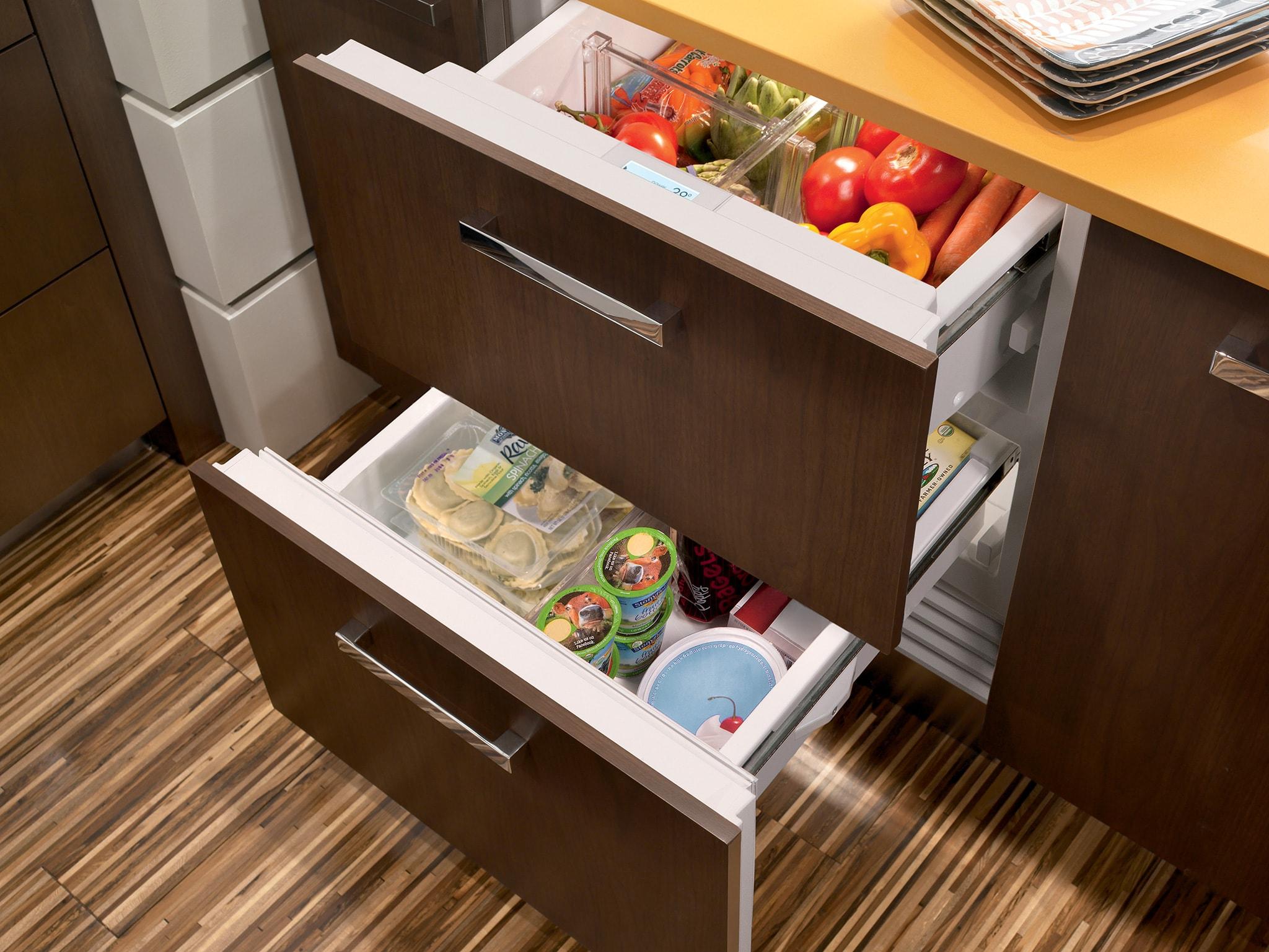 Sub Zero 30 Quot Designer Refrigerator Freezer Drawers Panel