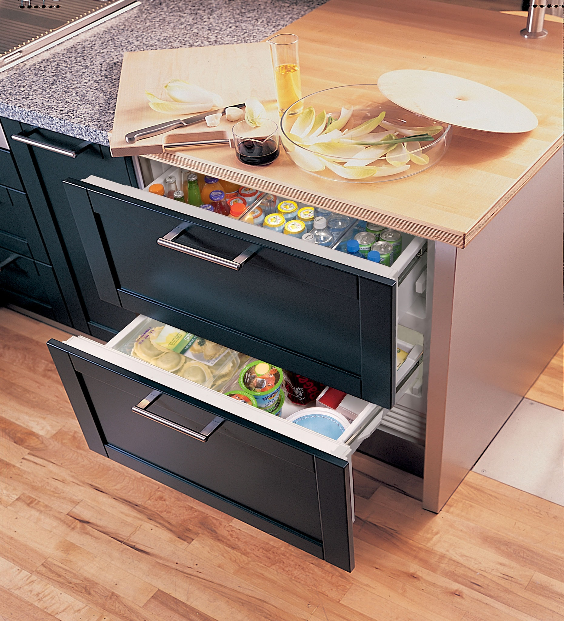 Sub Zero 36 Quot Designer Refrigerator Freezer Drawers Panel