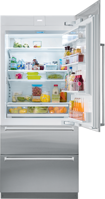 "Sub-Zero Refrigerators 36"" Designer Over-and-Under Refrigerator - Panel Ready (IT-36R)"
