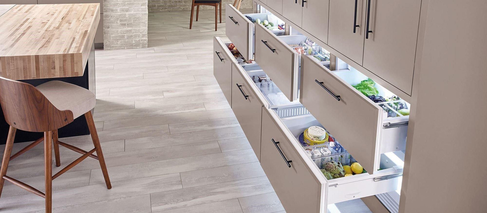 Sub Zero 30 Quot Designer Refrigerator Drawers Panel Ready