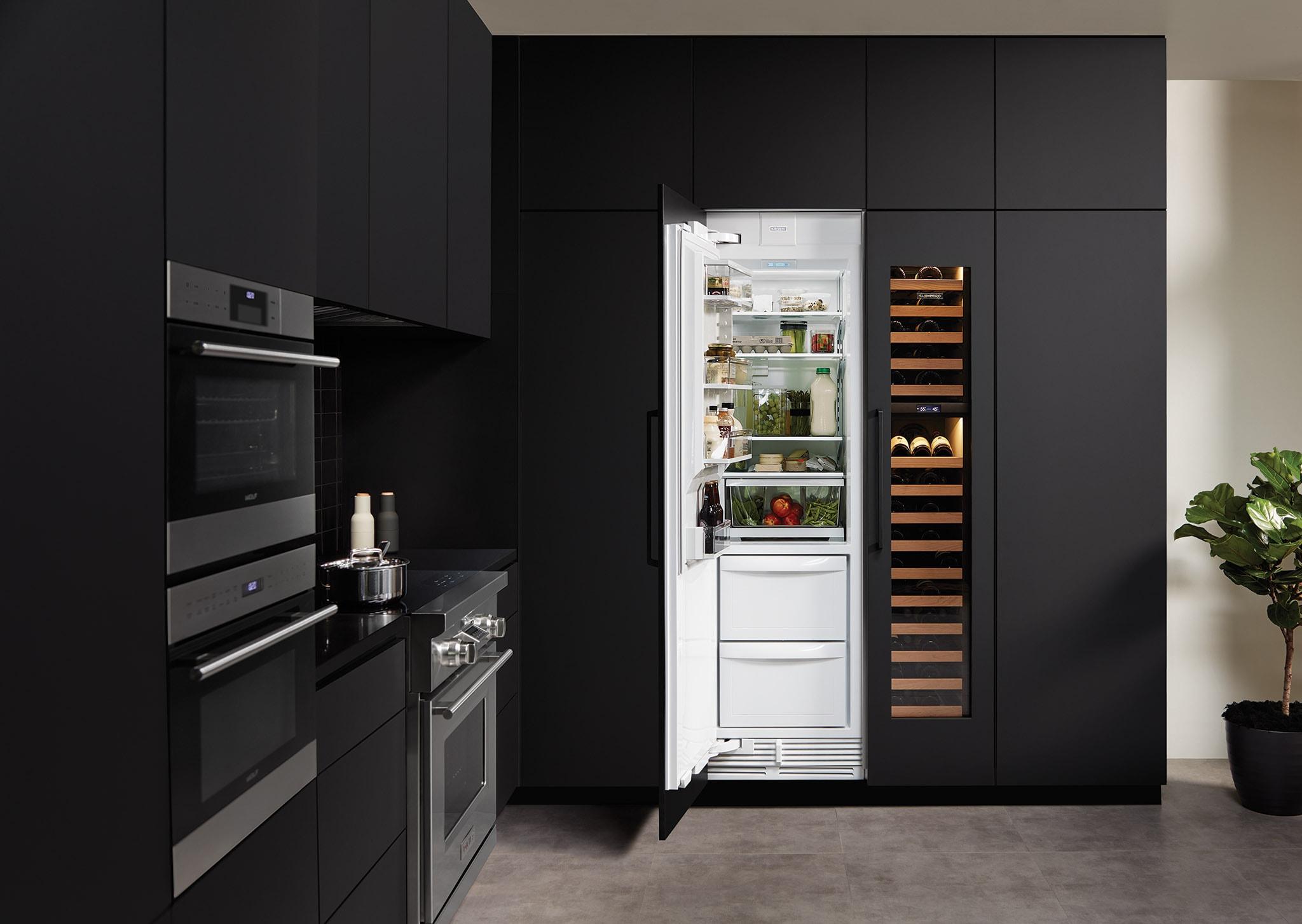 Sub Zero 24 Quot Designer Column Refrigerator Freezer Panel