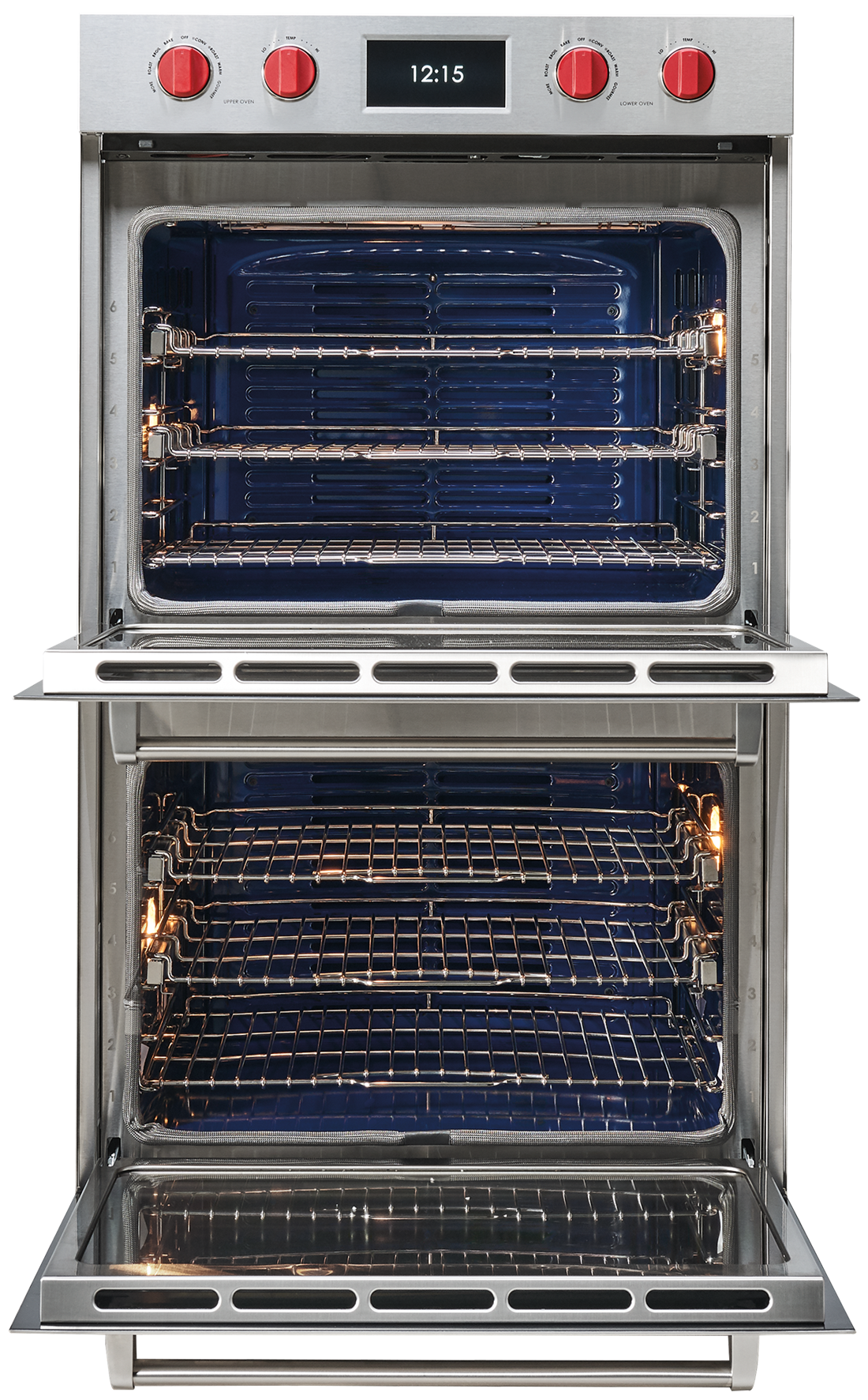 "Wolf Appliances 30"" M Series Professional Classic Double Oven (DO30PM/S/PH)"