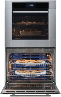 "Wolf Appliances 30"" M Series Transitional Classic Double Oven (DO30TM/S/TH)"