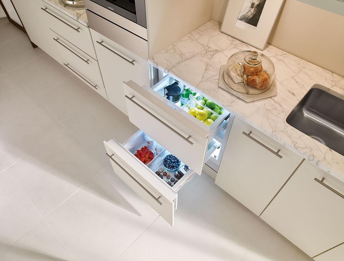 Sub Zero 24 Quot Designer Refrigerator Drawers Panel Ready