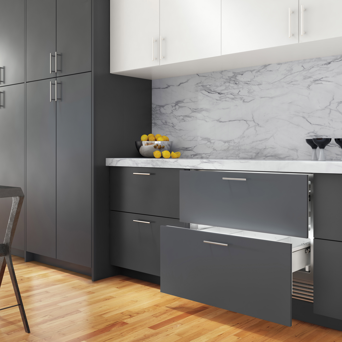 Sub Zero 36 Quot Designer Refrigerator Drawers With Air