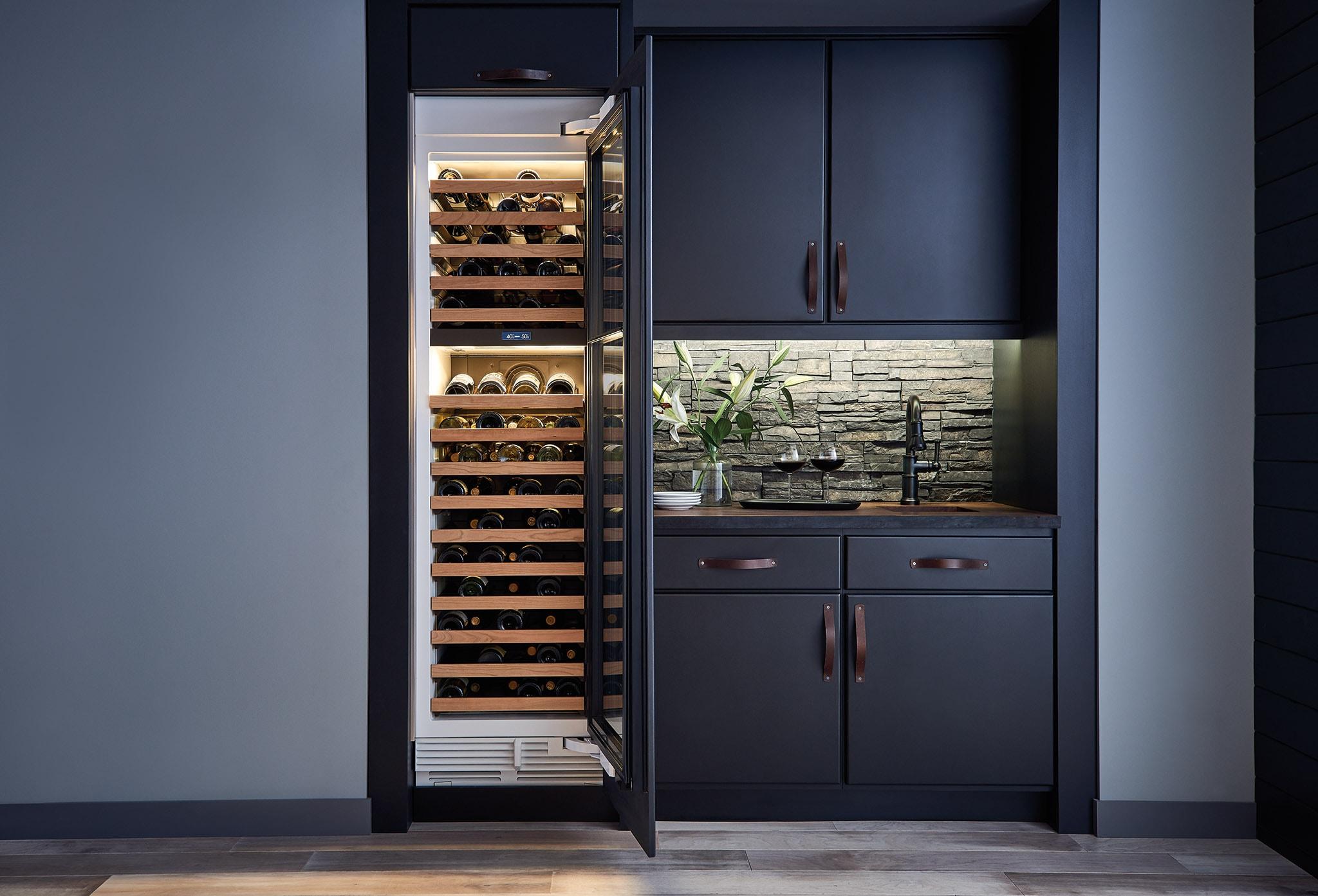 Sub Zero 24 Quot Designer Wine Storage Panel Ready Iw 24