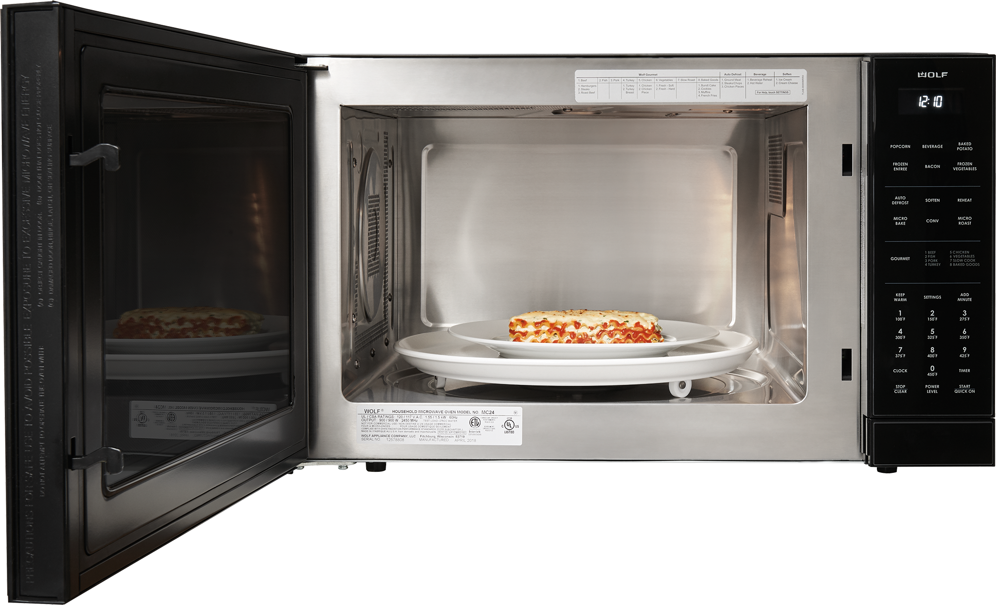 Wolf 24 Quot Convection Microwave Oven Mc24