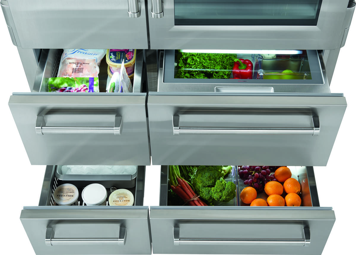 Sub Zero 48 Quot Pro Refrigerator Freezer With Glass Door
