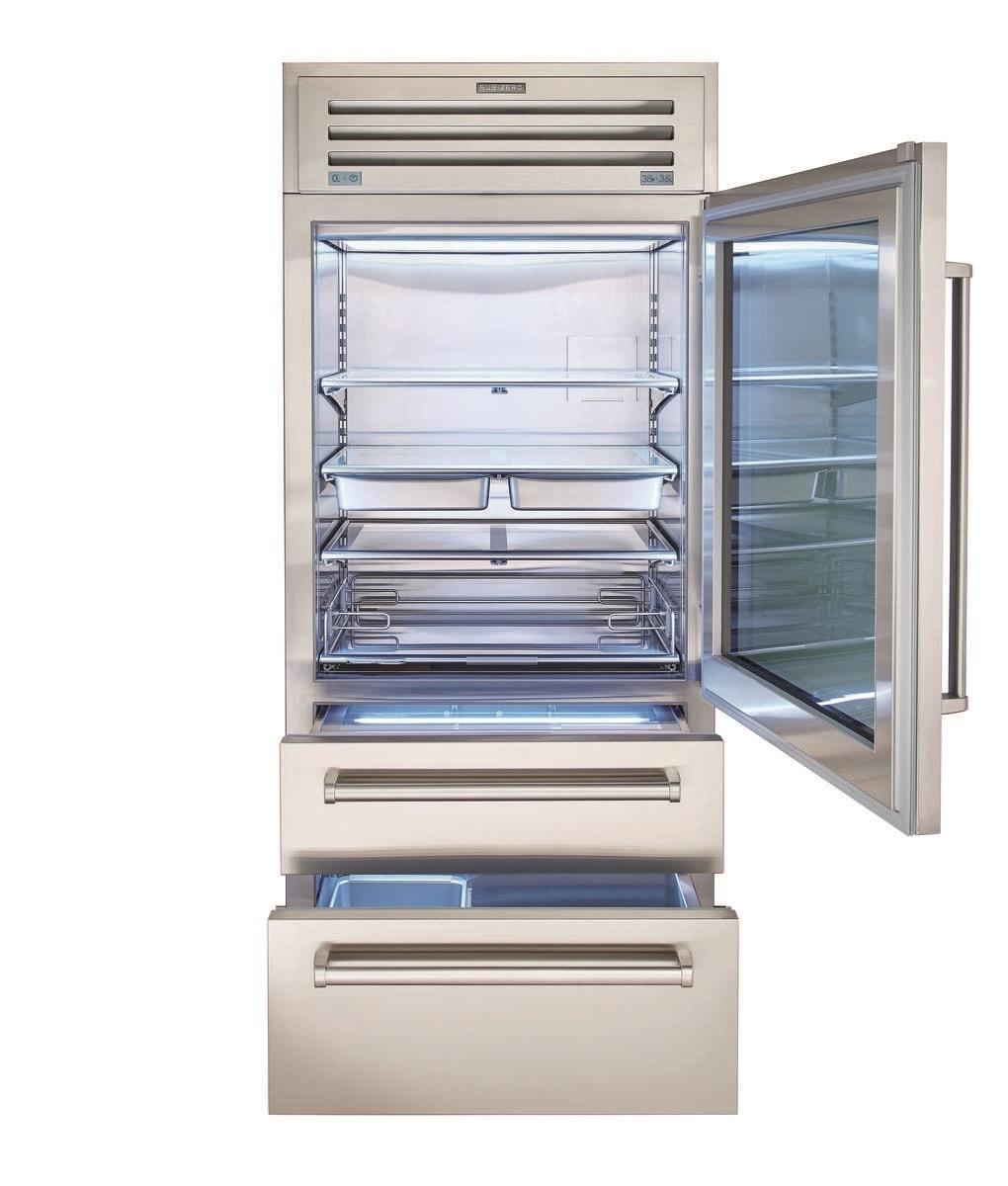 36 Pro Refrigerator Freezer