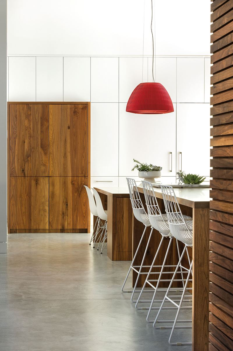 Just a pop of red sub zero wolf and cove kitchens
