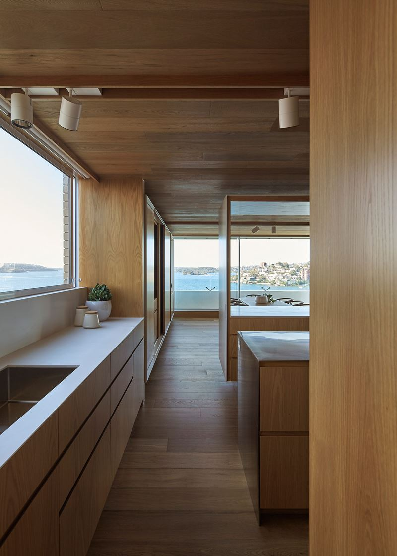 Darling point apartment sub zero wolf and cove kitchens for Apartment zero design