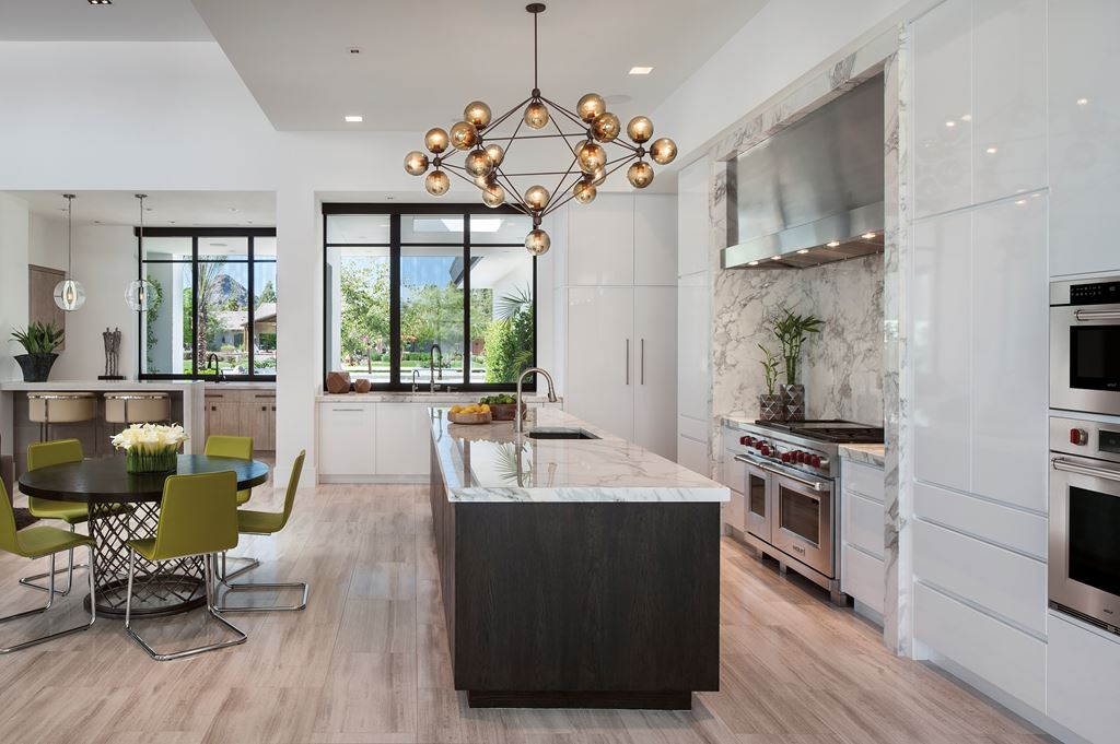 Arizona organic sub zero wolf and cove kitchens its not the kind of kitchen you typically see in arizona which often leans toward heavier tuscan kitchens but its a standout that perfectly suits the workwithnaturefo