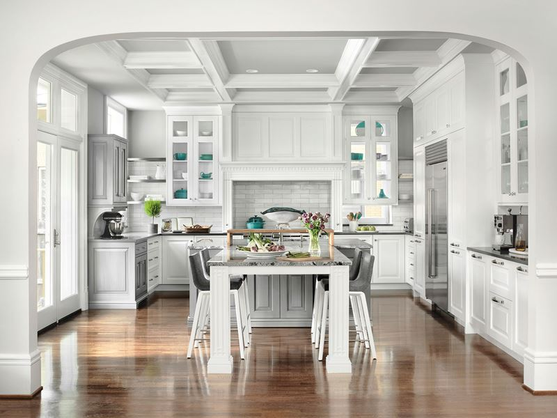 One Wall Kitchen With Island Dimensions