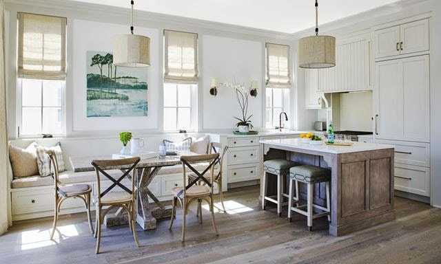 Traditional Beachfront Escape by Catherine Zanghi Sub-Zero, Wolf, and Cove Kitchen Design Contest.