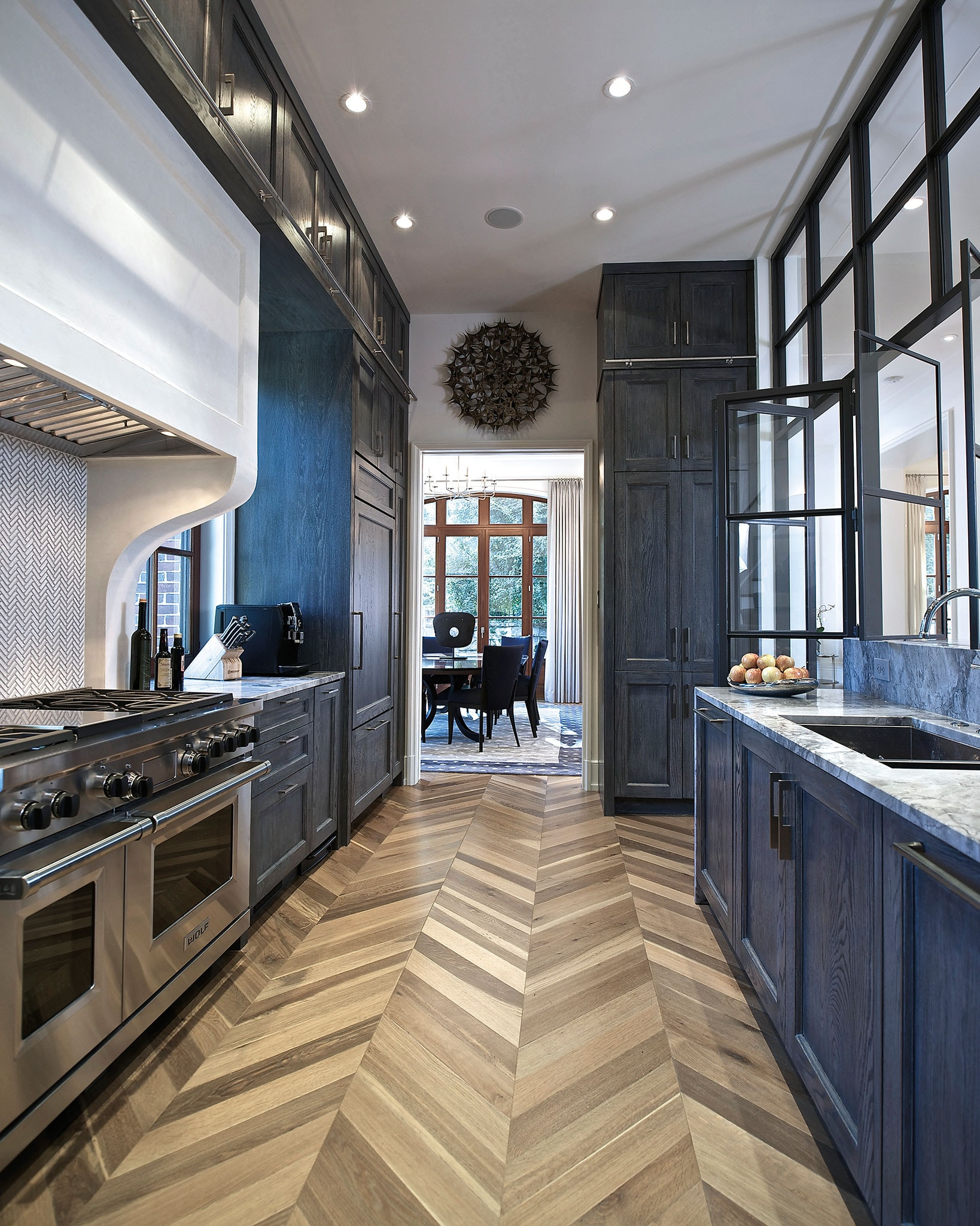 In Both Function And Design, This Atlanta Kitchen Is A True Work Of Art.