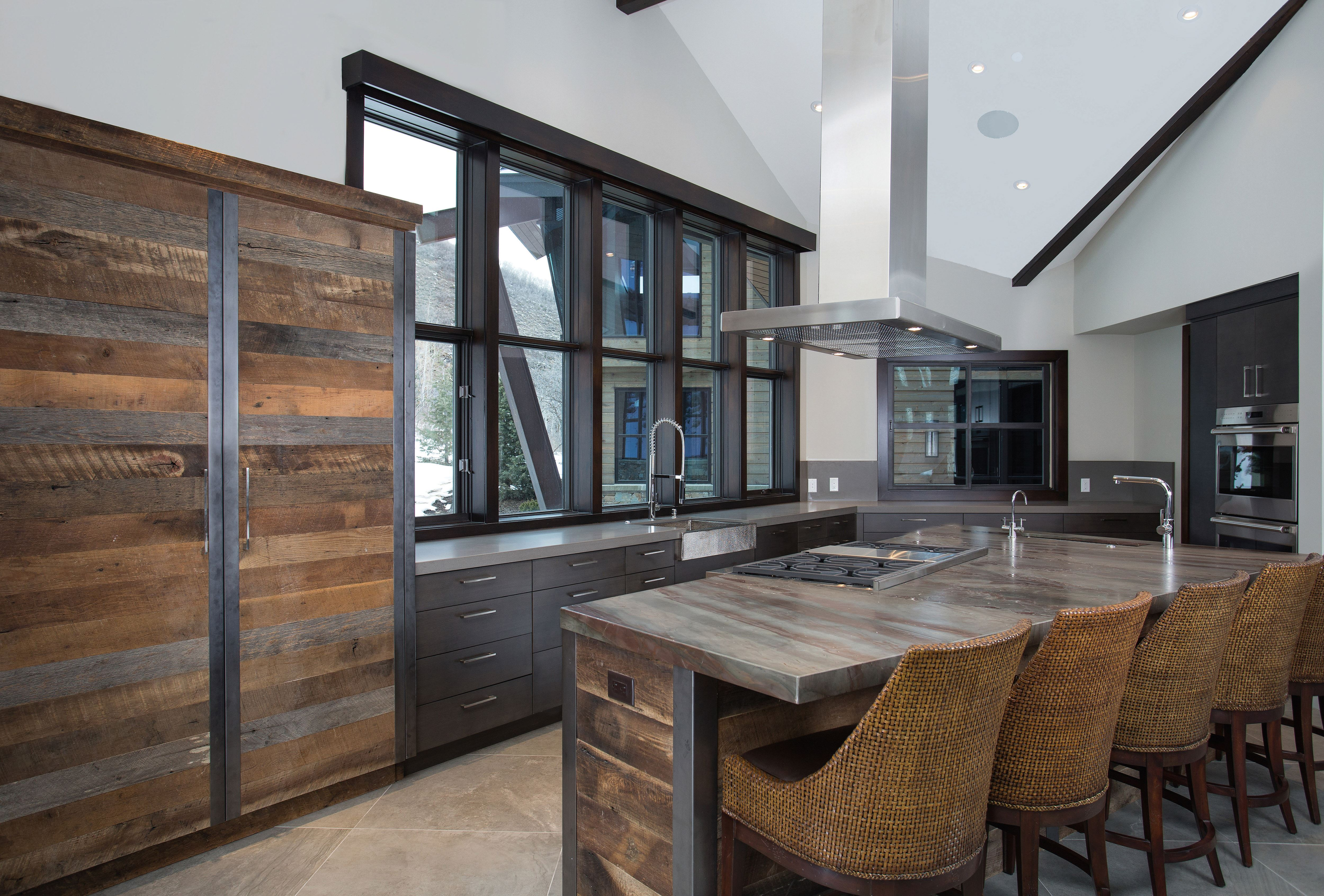 Mountain contemporary sub zero wolf and cove kitchens