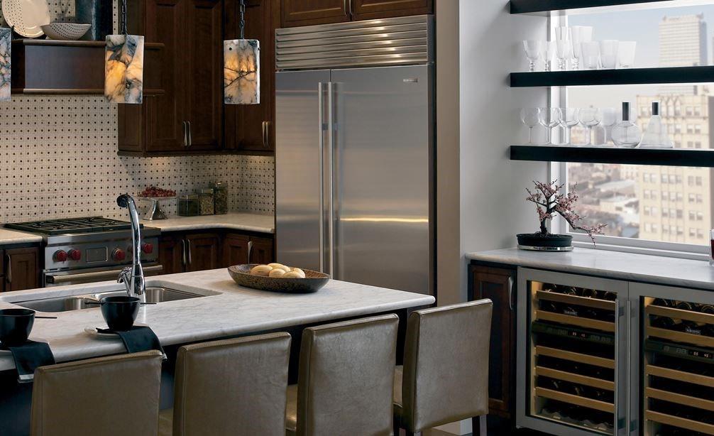 Sub Zero Classic Side Refrigerator Freezer