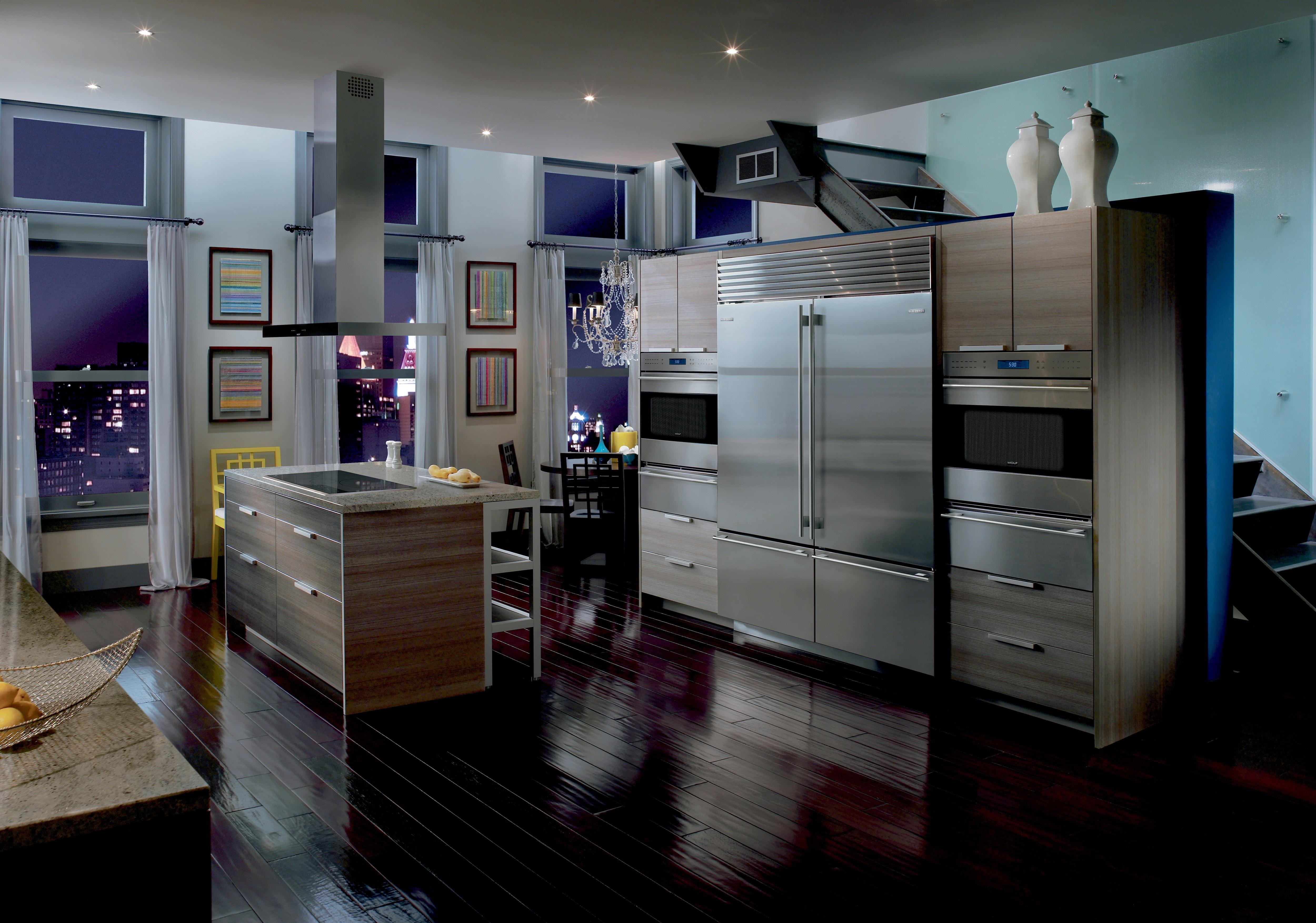 Sub Zero 30 Classic Over And Under Refrigerator Freezer Bi 30u S