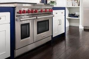 "Wolf 48"" Gas Range with 6 Burners and Infrared Charbroiler (GR486C)"