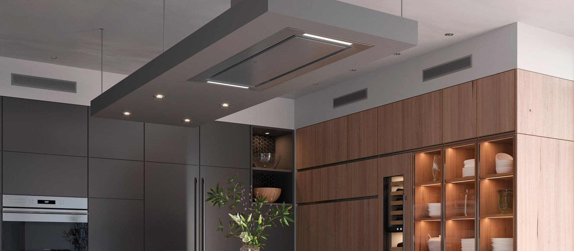 48 Ceiling Mounted Ventilation Vc48s Wolf Appliances