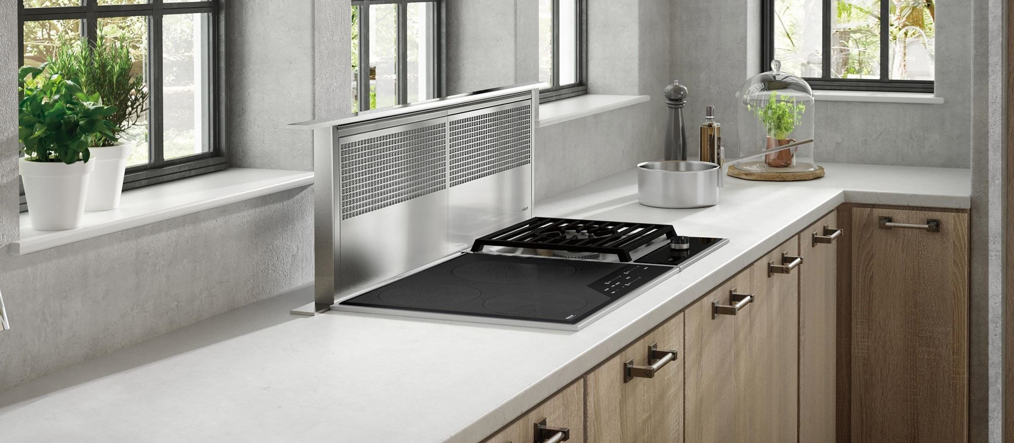 "Wolf 24"" Transitional Framed Induction Cooktop (CI243TF/S)"