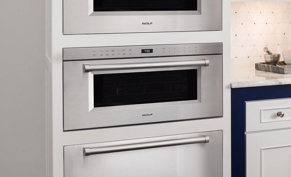 Drop Down Door Microwave Oven