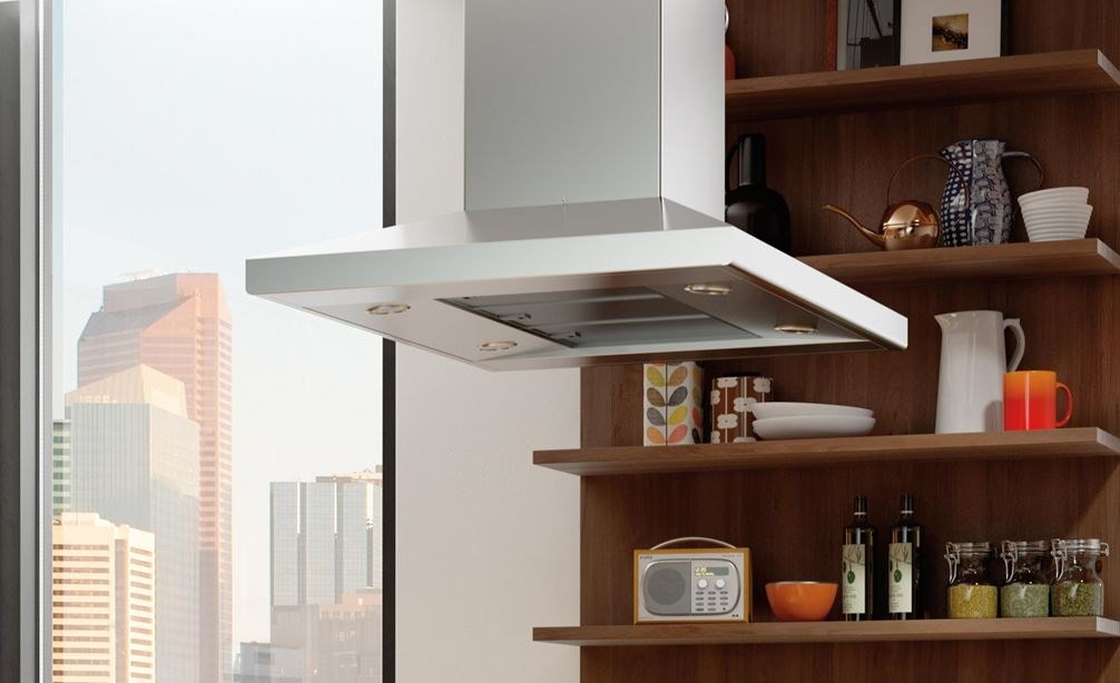 """Wolf 42"""" Cooktop Island Hood - Stainless (VI42S)"""