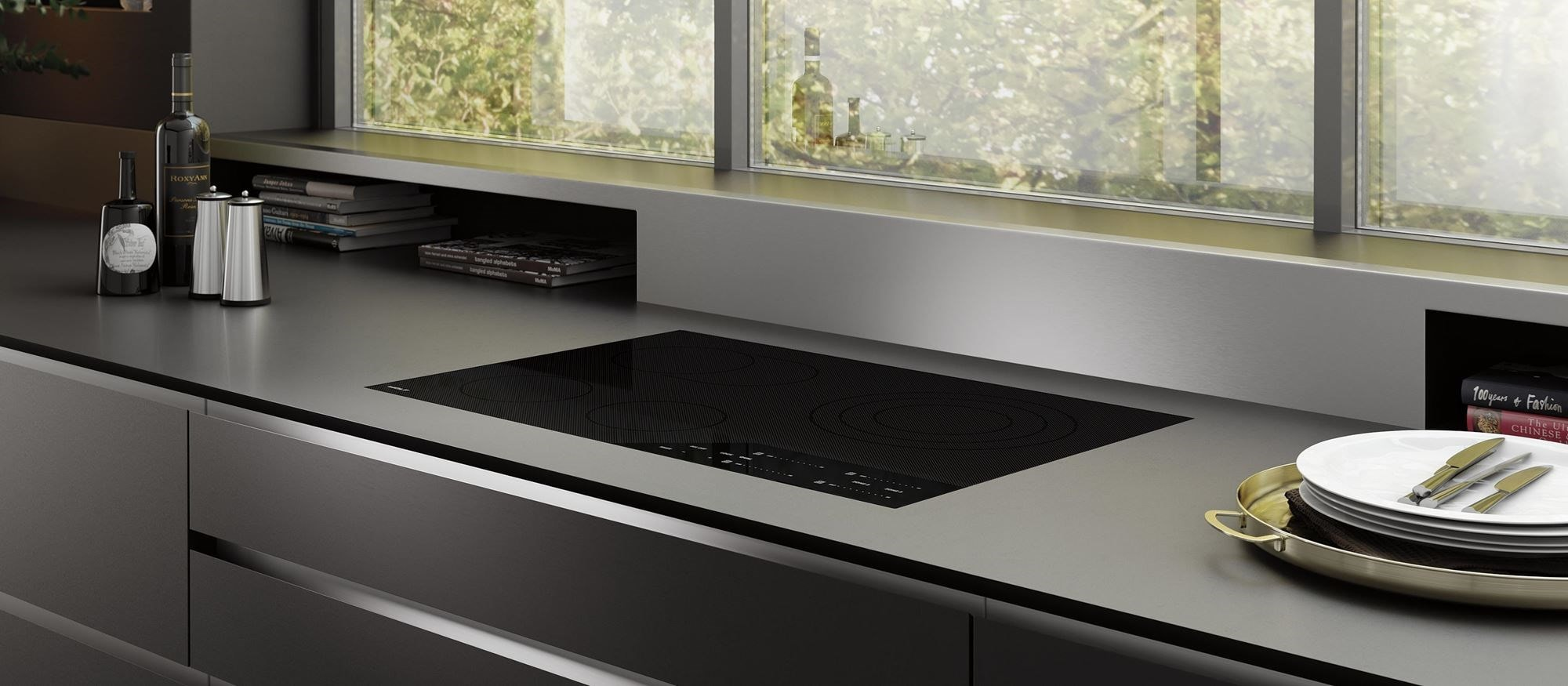 "Wolf 30"" Contemporary Electric Cooktop (CE304C/B)"