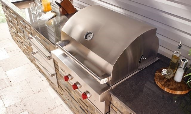 Bringing the kitchen outdoors with a Wolf Built-In Grill
