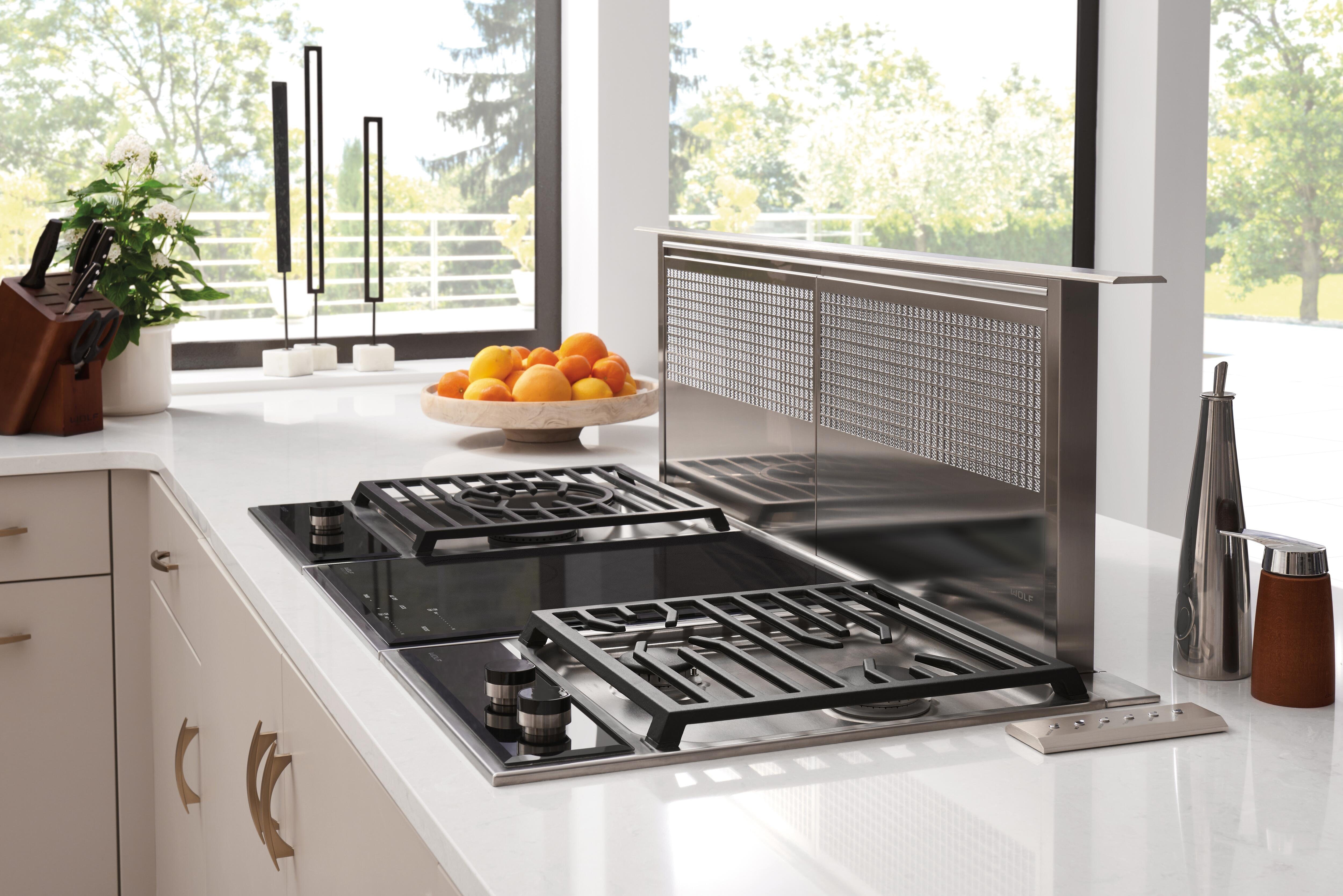 ... Gas Cooktop (CG152TF/S), 15u0026quot; Transitional Multifunction Cooktop