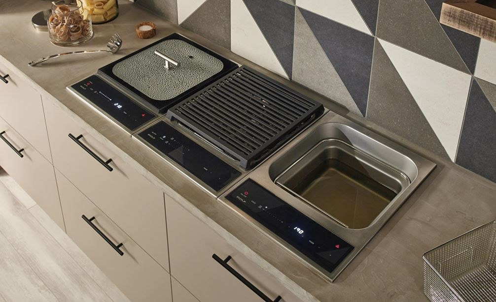 Wolf 15 Transitional Grill Module